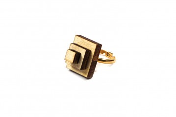 Ring wooden rectangle