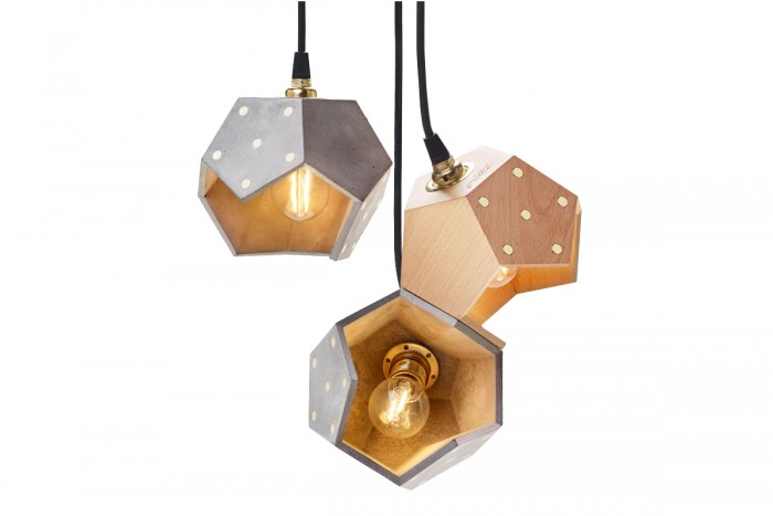 Suspension lamp Basic TWELVE TRIO