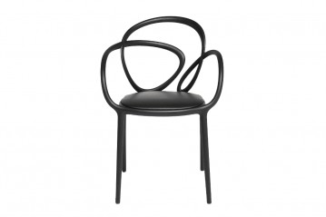 Set 2 Loop chair with cushion
