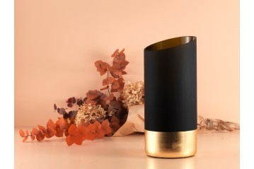 Set of Mentha Vases gold