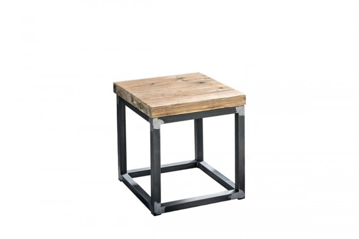 Stool-night table Patchwork