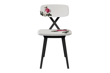 Set 2 Sedie X-Chair Flower