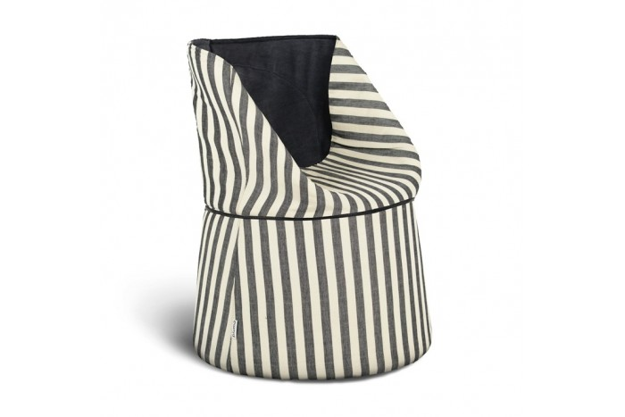 Armchair Papillon Striped