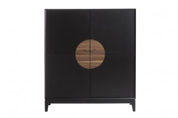 Cabinet Xian black&walnut