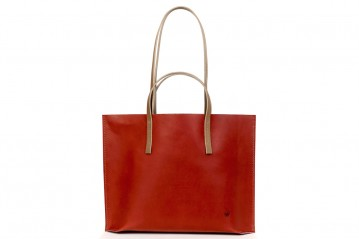 Shopper I PASSI red