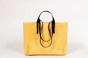 Shopper I PASSI yellow