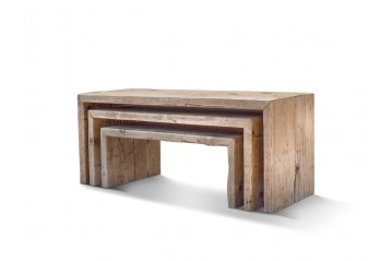 Bench-Coffee table Patchwork