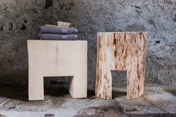 Set of 2 Stool Casetta Blonde
