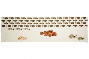 Table Runner Mediterraneo Damselfish