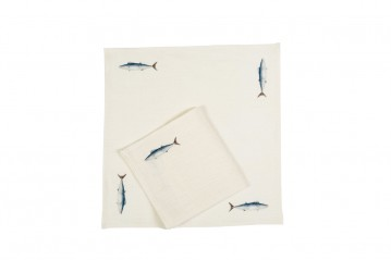 Set 2 Dinner Napkins Mediterraneo