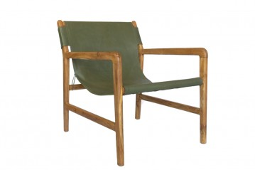 Lounge Armchair Milo Green
