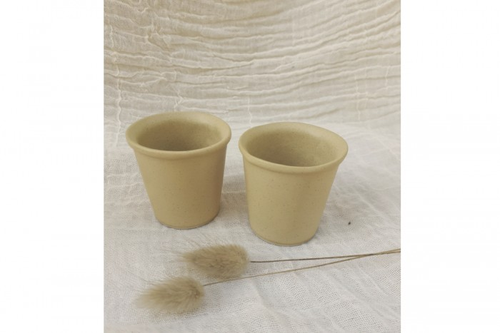 Set of 2 Espresso Glasses 01
