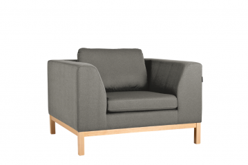 Ambient Wood 3 Seater Sofa