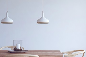Plera white lamp