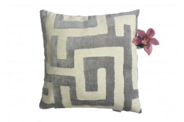 Cushion Cover Velvet&Linen I