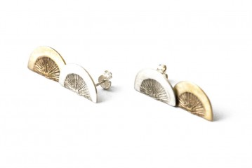 Spicchio double earrings