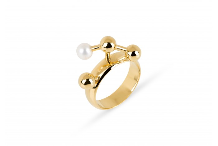 Grafo gold ring