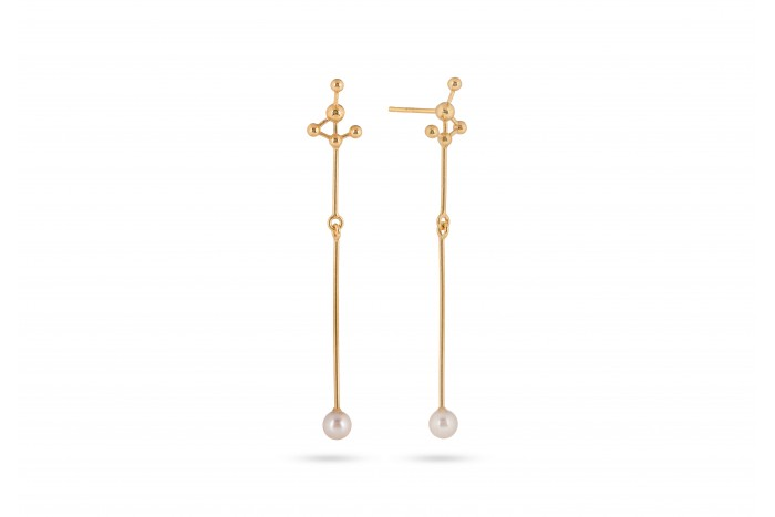 Grafo dangle earrings