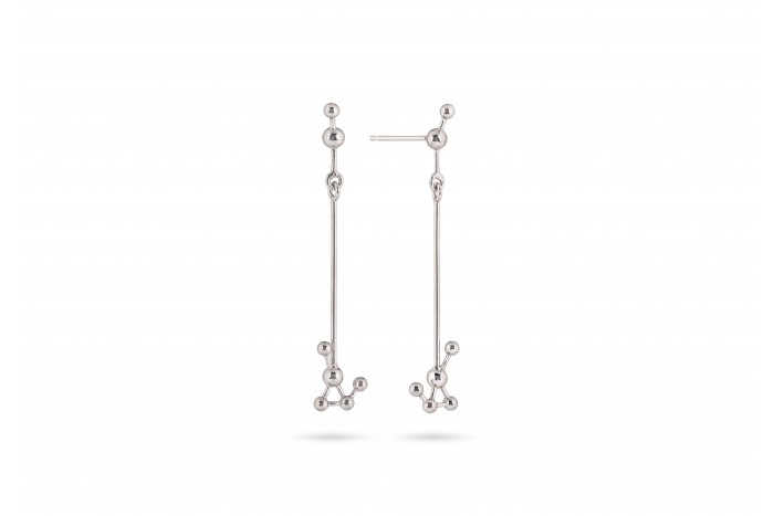 Grafo long earrings