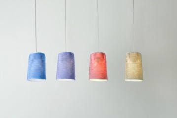 Paint Stripe lamp