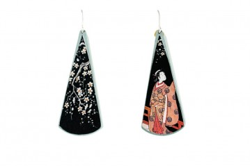 Lovers Surimono earrings