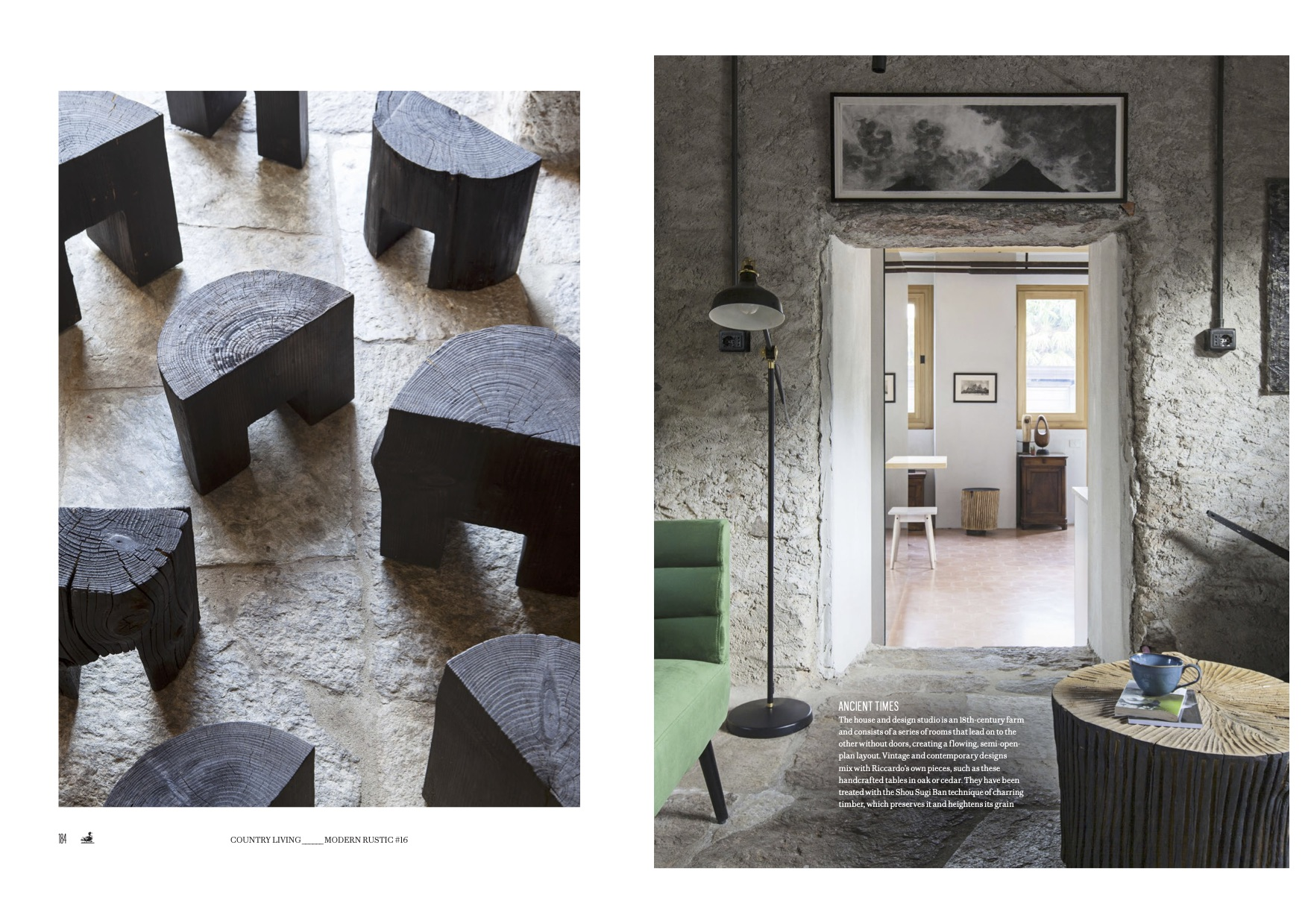 Modern Rustic (UK), interior magazine