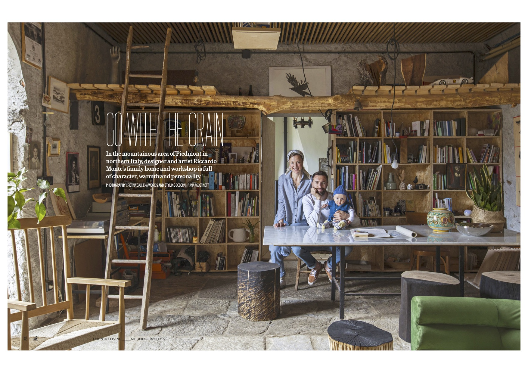 Modern Rustic, UK interior magazine